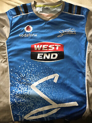 AU49.99 • Buy Offical BBL Cricket Adelaide Strikers Shirt L  Signed By Captain  Alex Carey
