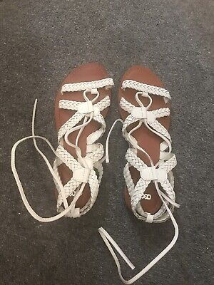 Asos Gladiator Sandals Size 7 • 1.40£