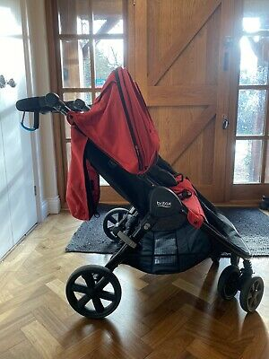 Britax Red B Agile Double * Immaculate - Hardly Used * • 100£