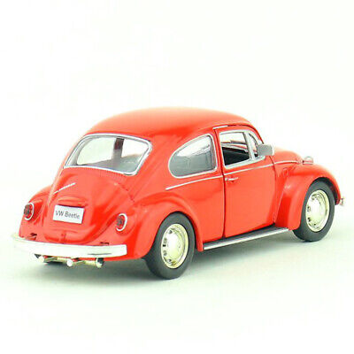 1:36 Scale VW Beetle 1967 Model Car Alloy Diecast Gift Toy Vehicle Kids Red • 11.84£