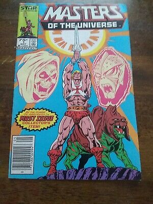 $14.51 • Buy MASTERS Of The UNIVERSE # 1 MARVEL COMICS MAY 1986 PREMIER ISSUE TV CARTOON
