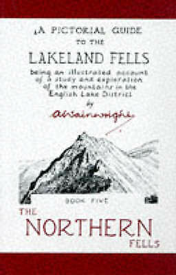 A Pictorial Guide To The Lakeland Fells: The N... By Wainwright, Alfred Hardback • 10£