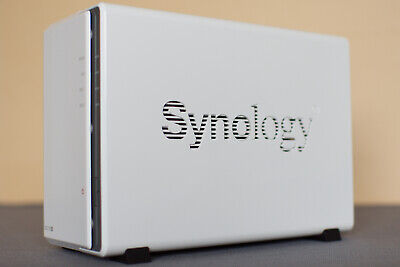 Synology Diskstation DS215j 2-Bay Network Attached Storage NAS (No HDDs) Boxed • 135£