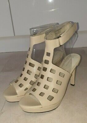Rockport Womens Very Light Cream Colour Shoes Sandals UK Size 5 • 29.99£