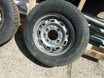 One Steel Wheel For Ifor Williams Trailer Or Horse Box Used Collection Only • 41£