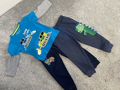 Boys Debenhams Blue Zoo Bundle Aged 3-4 • 1.50£