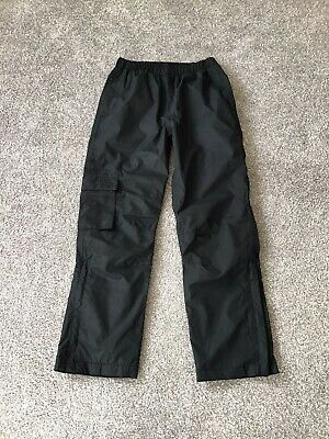 Girls Or Boys Peter Storm Waterproof Trousers In Black Age 11-12 Years  • 6.99£