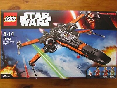 LEGO Set 75102 STAR WARS Poe's X-Wing MISB • 31£