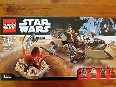 LEGO Set 75174 STAR WARS Desert Skiff Escape MISB • 28£