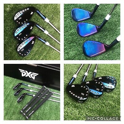 AU364.98 • Buy Custom Raw Blue One Off PXG 0311 Wedge Set 52/56/60 Must Have! Pured & Aligned⛳️
