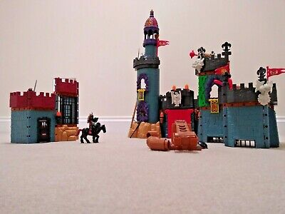Medival Battle Castle & Jail Toy Set + Accessories, Fisher Price, Imaginext,Play • 40£