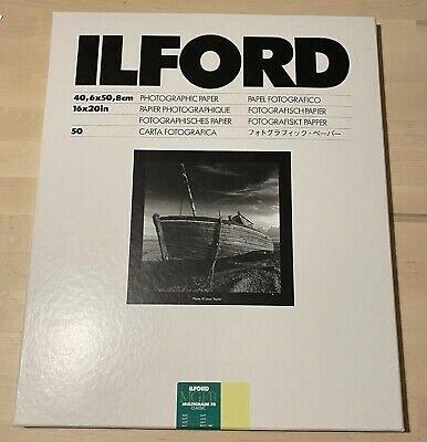 Ilford Multigrade FB Classic 50 Sheets 16x20 40x50 • 172.13£