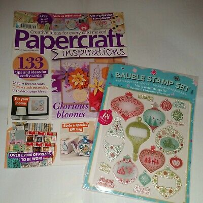 £5.75 • Buy Papercraft Inspirations Magazine Issue No. 156 October 2016