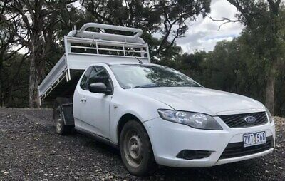 AU12500 • Buy 2008 Ford Falcon Fg Tipper Ute Auto Lpg Gas Cab Chassis One Tonner Tray Tipping