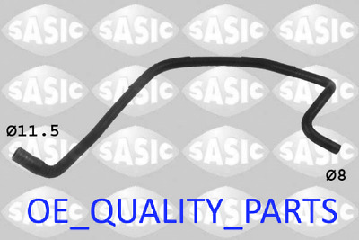 £16.94 • Buy Coolant Flange Pipe Water Hose 3406024 SASI For Opel Astra Classic Zafira