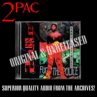 2PAC - Troublesome 21 Original Album Raw & Uncut Promo Unreleased Tupac  • 65£