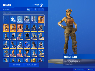 $ CDN14.15 • Buy ✅ OG SEASON 2 FN Account|Renegade Raider | Black Knight ✅