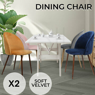 AU129.99 • Buy 2x Dining Chairs Seat French Provincial Kitchen Upholstered Contemporary Chair