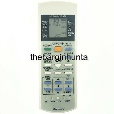 AU16.95 • Buy Panasonic Air Conditioner Replacement Remote Control A75C3217, A75C3307