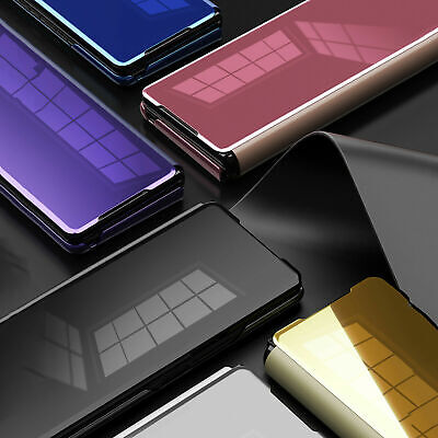 AU32.54 • Buy Protective Phone Case Leather Mirror Cover For Samsung Galaxy Z Fold 2 Phone #AU