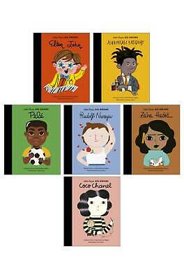 £17.99 • Buy Little People Big Dreams Collection Of 6 Books (RRP £35.94) Pele, Coco Chanel