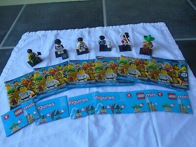 $ CDN52.60 • Buy Lego Minifigures Series 2 X 6 - Mime,Weight Lifter,Karate,Ringmaster,Mexican
