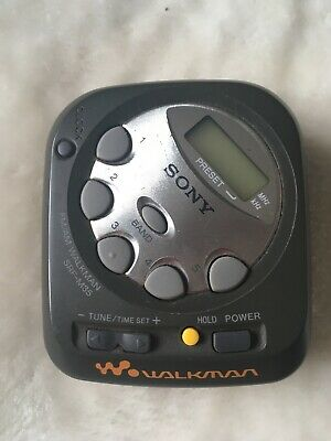 Sony SRF-M35 AM/FM Vintage Pocket Radio Walkman Working • 15£