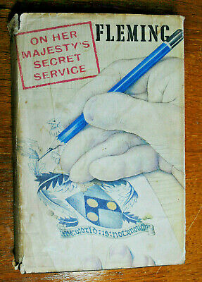 Ian Fleming ~ On Her Majesty's Secret Service ~ First Ed / First Impression. • 31.05£