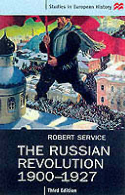 The Russian Revolution, 1900-27 By Robert Service (Paperback, 1999) • 3£