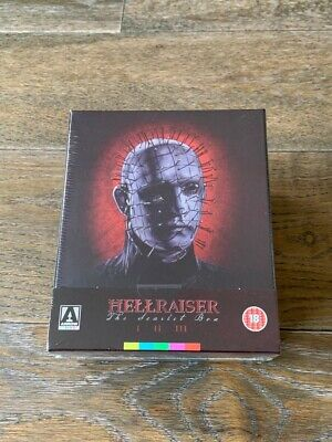 Hellraiser The Scarlet Box Blu-ray Trilogy Set Arrow Video Brand New And Sealed • 199.95£