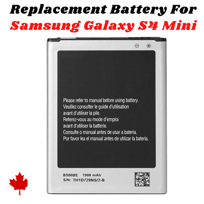 £4.59 • Buy New Replacement Battery B500AE 1900mAh FOR Samsung Galaxy S4 Mini Mobile Phone