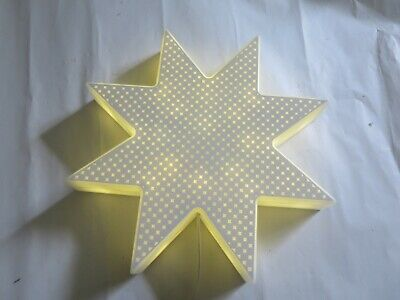 Ikea Mains Powered Star Light - 1 Of 2 Available, RH12 5HT (will Combine Posage) • 10£