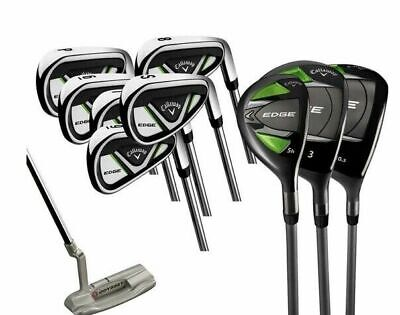 AU1225.44 • Buy Callaway Edge 10 Piece Golf Clubs Set For Men Right Handed Num 4