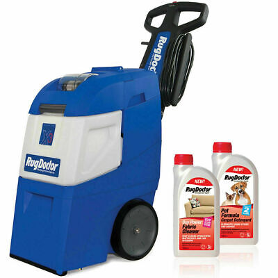 BRAND NEW Rug Doctor Mighty Pro X3 Carpet Cleaner W/ Pet Formula, Oxy Detergents • 556.12£