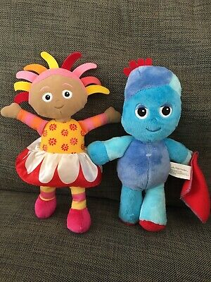 In The Night Garden 14  Musical Talking UPSY DAISY & IGGLE PIGGLE Soft Plush Toy • 2.10£