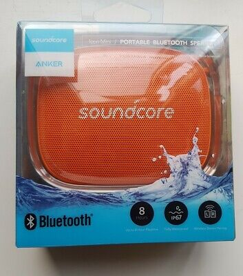 AU51.61 • Buy Soundcore Icon Mini By Anker IP67 Waterproof Portable Bluetooth Speaker ORANGE