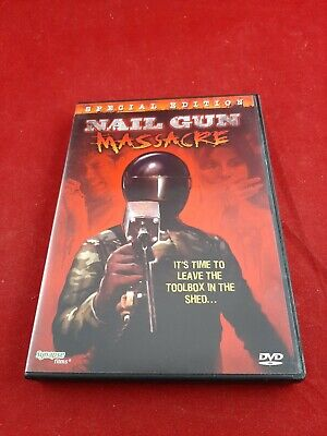 Nail Gun Massacre (DVD, Special Edition)Rocky Patterson, Michelle Meyer • 14.30£