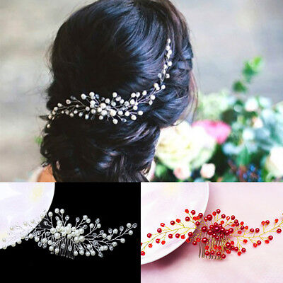 $ CDN3.99 • Buy Fashion Women Hair Comb Bridal Wedding Headwear Jewelry Hair Accessories Gift