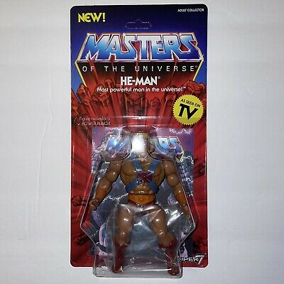 $37 • Buy MOTU HE-MAN. Masters Of The Universe He-Man 5 1/2  Action Figure. MINT. Super 7