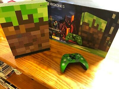 AU300 • Buy Microsoft Xbox One S Minecraft Limited Edition 1TB Console
