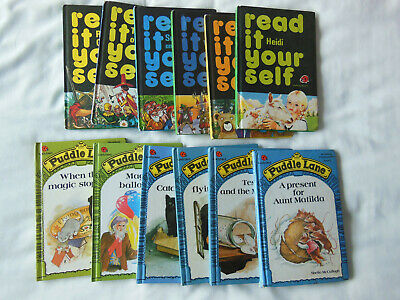 Ladybird Books Job Lot X12  Puddle Lane / Read It Yourself  V G Condition • 5.50£