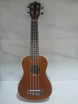 AU25.99 • Buy Artist Ukb1 Soprano Ukulele  In As New Condition  With Carry Bag