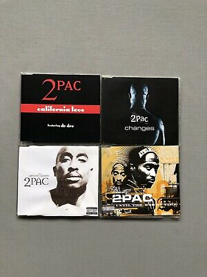 2 Pac Cd Bundle / Joblot (singles) • 3.99£