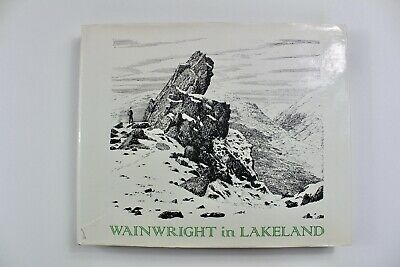 WAINWRIGHT IN LAKELAND With MAP 1985 Hardback With Wrapper Lake District Fells • 59.99£