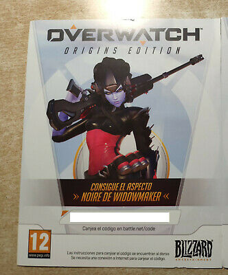 AU125.42 • Buy Overwatch Noire Widowmaker Skin Battle.net Key PC