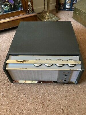 HMV Vintage Record Player 240volts Working-no Needle • 85£