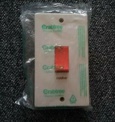 £5 • Buy Crabtree Cooker Switch 50A