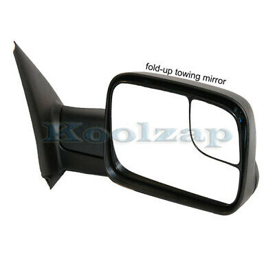 $107.95 • Buy TYC 02-08 Ram 1500 & 03-09 2500 3500 Truck Manual Towing Mirror Black Right Side