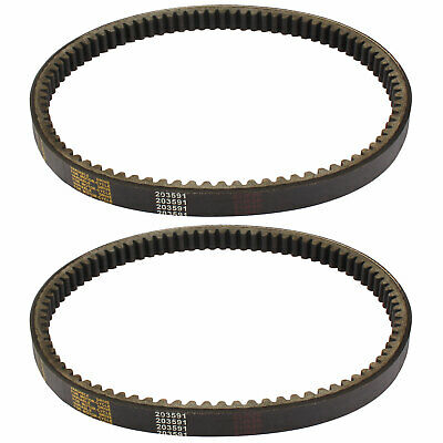 $ CDN21.73 • Buy 2Pcs Drive Belt Go Kart Yerf Dog 203591 Q430203W Q43103W Q43203W Rotary 10052