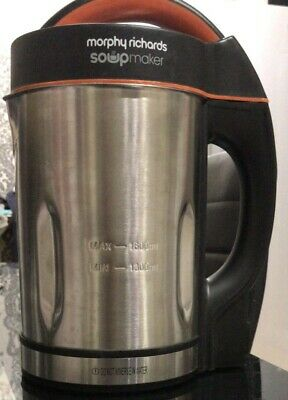 Soup Maker - Morphy Richards 1.6 Litre - Model 48822 - Good Condition & Boxed • 39.99£